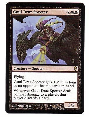 4 Guul Draz Specter = Black Zendikar Mtg Magic Rare 4x x4