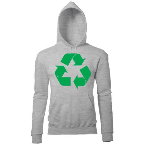 Recycle Logo da Donna il Big Bang Theory Leonard Sheldon Penny Felpa con Cappuccio