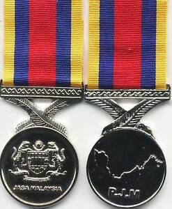 Image Is Loading Miniature Pingat Jasa Malaysia Medal