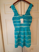 Cato Plus Sportswear Size 18/20w Women's Blue Hand Dyed Summer Top (new)