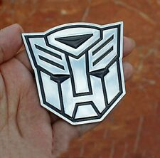 Metal Transformer Car Decal 3D Decoration Logo Alloy Zinc Emblem Badge Sticker