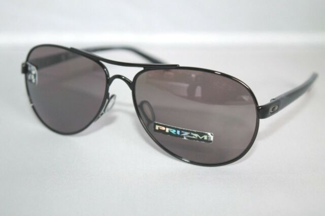 53be672f42 Oo4108-11 Oakley Sunglasses Tie Breaker Women Polished Black Prizm Polarized