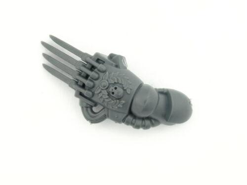 left 5x Space Marine Devastator Squad Power Claw *BITS* Arm