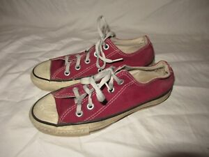 Details about Vintage 70's Converse Chuck Taylor All Star Basketball Red Sz 3.5 ORIGINAL USA