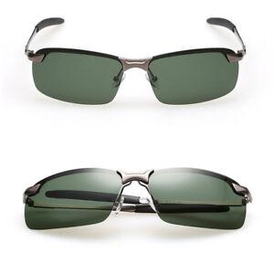 6baef8a6ed89e La foto se está cargando Para-Hombre-UV400-Polarizado-Vintage-Gafas-de-Sol-