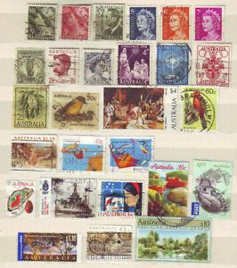Australia-vari-francobolli-ALT-nuovo-timbrato-Kl-raccolta-lot