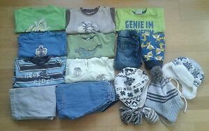 $2 Baby Paket 74 80 Hose Jeans Pullover Mütze Impidimpi H&M C&A Dawanda Junge