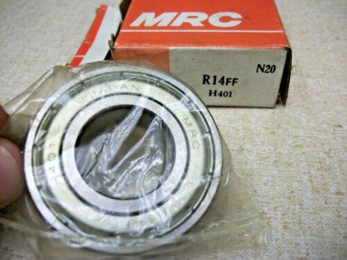 MRC R14FF Metal Shielded Bearing