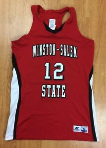 Image is loading Winston-Salem-State-Rams-Game-Worn-Basketball-Jersey- 7720e6ced