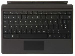 Microsoft Surface 3 Type Cover Keyboard - Black - UK Layout - New!
