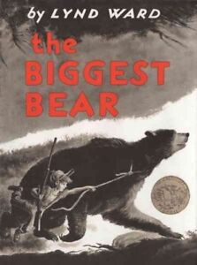 Biggest-Bear-School-And-Library-by-Ward-Lynd-Brand-New-Free-shipping-in-t