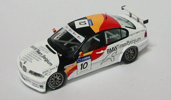 BMW 320  I rkblom ETCC 2002 1 43 MODEL s0403 spark Model  magasin d'usine