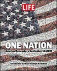 One Nation: America Remembers September 11, 2001 by Life (Hardback, 2001)