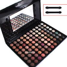 88 Full Color Warm Eye Shadow Palette Mirror Brush Rod Eyeshadow Cosmetic Makeup