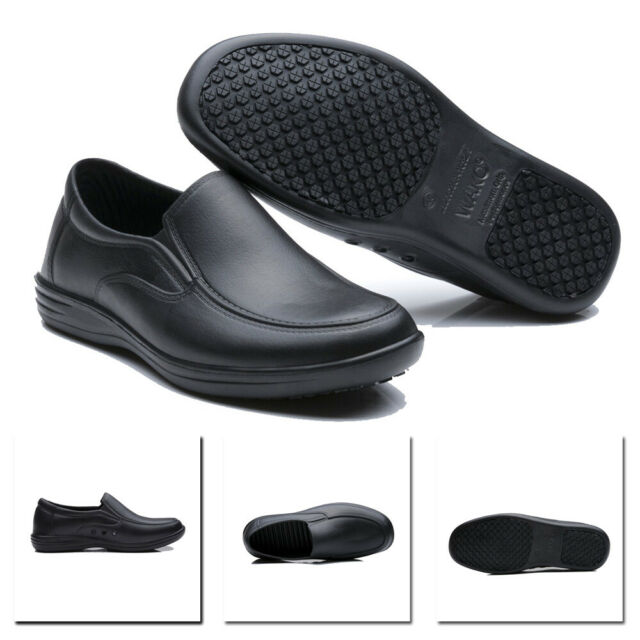 Autumn Men Warm Flat Sole PU Leather Shoes Slip On Waterproof Casual Party Shoes
