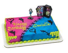 Monster High cake decoration Decoset cake topper set party toys figurine