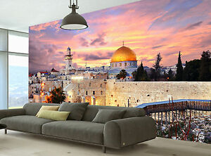 Jerusalem Old City Wall Mural Photo Wallpaper GIANT DECOR Paper