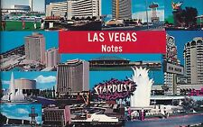 1960'S LAS VEGAS NOTES BOOK FREE SHIPPING IN USA