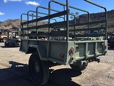 M105A3 cargo trailer with tarp. M923 m925. Military trailer.