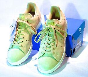 amazonka najlepsze oferty na lepszy Details about men's adidas stan smith linen khaki suede sneakers BB0039  11.5 US, 11 UK, 460 EU