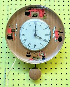 Spartus Electric Wall Clock Kitchen