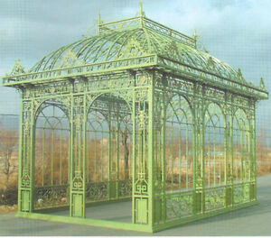Orangerie-Jugendstil-Gartenhaus-Gazebo-Pavillon-Gewaechshaus-OR002-1