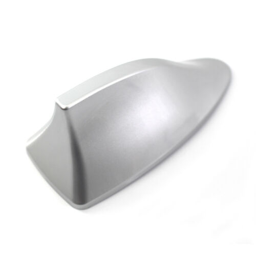 Silver Color Shark Fin Style Car Auto SUV Roof Radio AM//FM Signal Aerial Antenna