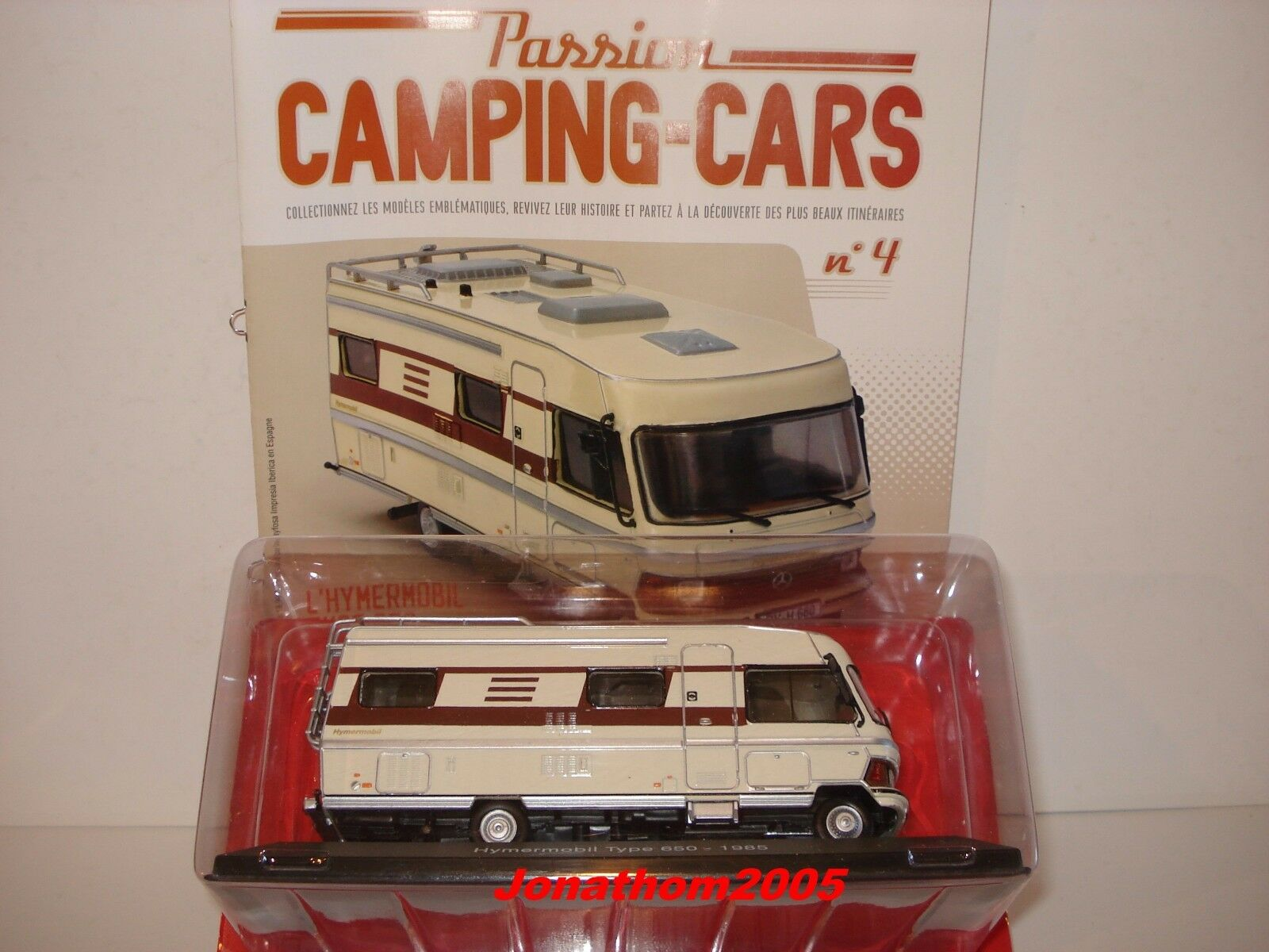 PASSION CAMPING CARS - HYMERMOBIL TYPE 650 - GERMANY 1985 au 1 43°