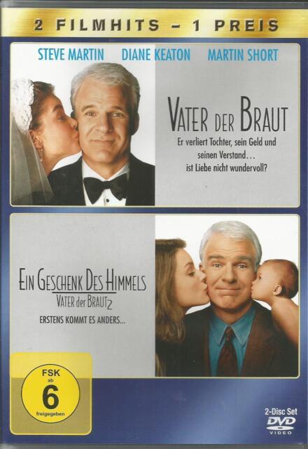 DVD - Vater der Braut / Vater der Braut 2 (Steve Martin) / #1349