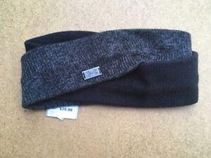 461a8915fc1 UNDER ARMOUR Women s StudioLux Headband Color Black Phantom Gray ...