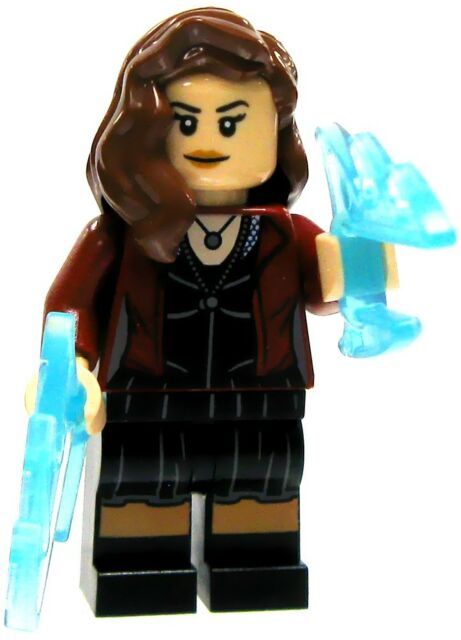 LEGO Minifigure Marvel Super Heroes Scarlet Witch  #76031