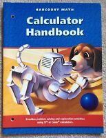 Harcourt Math Calculator Handbook, Grade 3