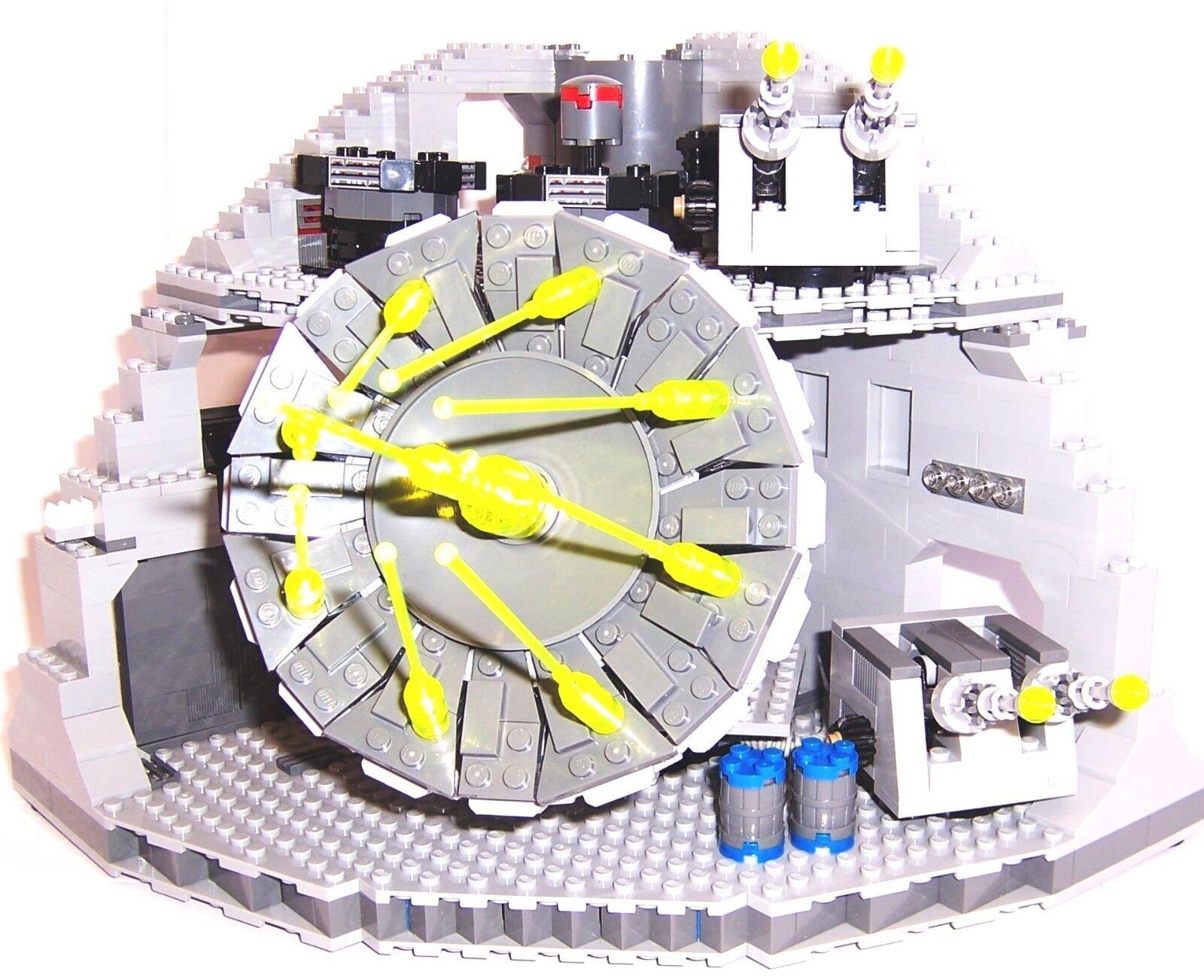 Lego Star Wars Originalnachbau Superlaser Todestern 75159 + 4 x Kanone aus 10188