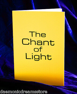 THE CHANT OF LIGHT Grimoire Finbarr Occult  Magick Witchcraft White Magic