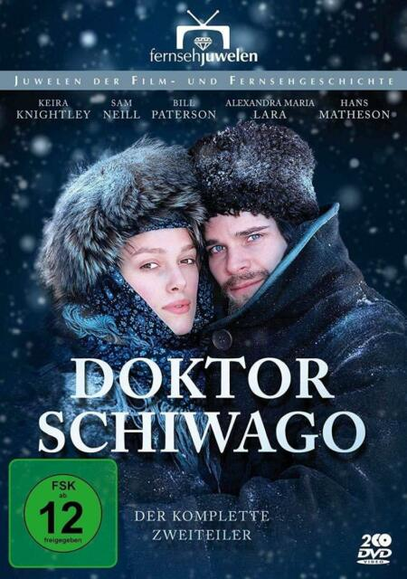 DOKTOR SCHIWAGO-KOMPL. MINISERIE, GIACOMO CAMPIOTTI-KEIRA KNIGHTLY  2 DVD NEW