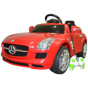 Mercedes Benz Sls R C Mp3 Kids Ride On Car Electric Battery Powered