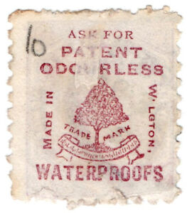 I-B-CK-New-Zealand-Postal-Adson-Patent-Waterproofs