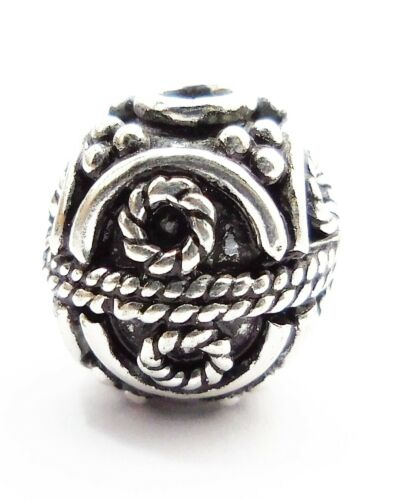 ANTIQUE STERLING SILVER PLATED 18K GOLD PLATED COPPER BALI BEAD 8MM 10MM 12MM 24