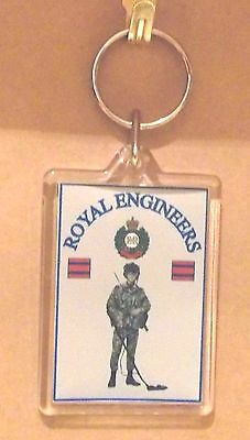 Acrylic Military Key Ring   Royal Hussars