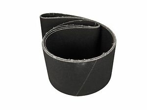 3 Pack 4 X 36 Inch 120 Grit Silicon Carbide Sanding Belts