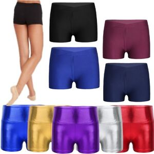 f7778e1d6124d Image is loading Girls-Boys-Cotton-Lycra-Cycling-Shorts-Kids-Childrens-