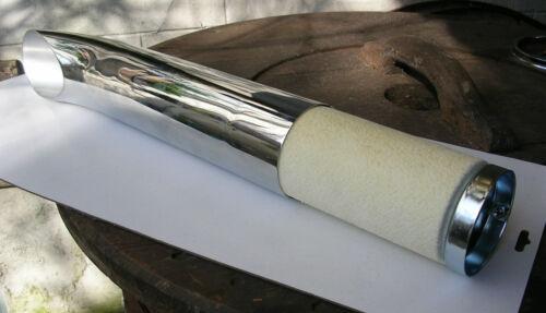 "chicane Dragpipe pot echappement harley bobber chopper exhaust baffles 3/"" 72 mm"