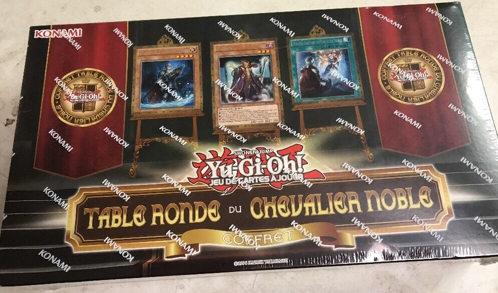 FRENCH Yugioh Noble Knights Of The Round Set For Card Game TCG CCG Playmat