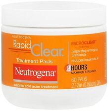 Neutrogena Rapid Clear Treatment Pads 60 Each
