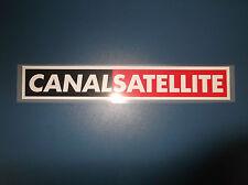 riproduzione sponsor CANAL SATELLITE serie A maglia juventus kappa nuovo termo