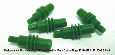 Delphi Weatherpack 12010300 Metri-pack 280 Cavity Plugs 5 pack 15324928