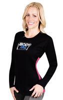 Neoprene Sauna Shirt Long Sleeve Woman Weight Loss Gym Aerobic Workouts 13908