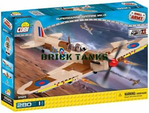 Supermarine-Spitfire-Mk-IX-COBI-5525-280-brick-fighter-aircraft