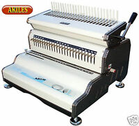 Akiles Combmac-24e Comb Binding Machine & Electric Hole Punch 14 [new]