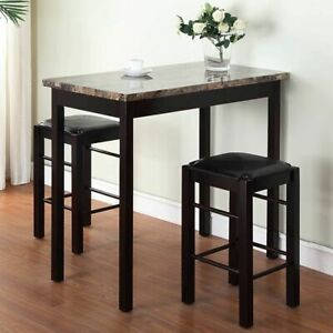 Small Kitchen Chairs 2 High Top Stools